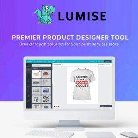 Lumise Product Designer | WooCommerce WordPress 1.9.8