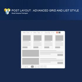PW Grid/List Post Layout For Visual Composer