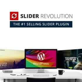 Slider Revolution Responsive WordPress Plugin + Addons + Templates
