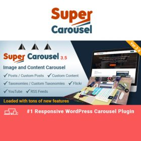 Super Carousel – Responsive WordPress Plugin