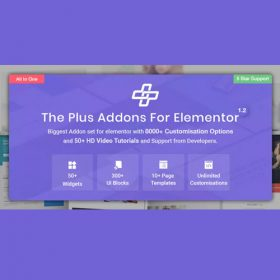 The Plus – Addon for Elementor Page Builder WordPress Plugin