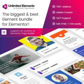 Unlimited Elements for Elementor Page Builder 1.4.72