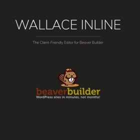 Wallace Inline – Front-end Content Editor for Beaver Builder 2.2.17
