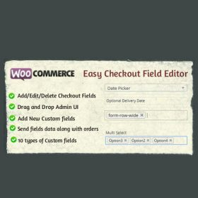WooCommerce Easy Checkout Field Editor