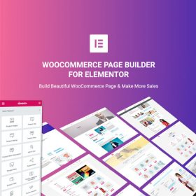WooCommerce Page Builder For Elementor 1.1.6.4