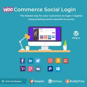WooCommerce Social Login – WordPress Plugin