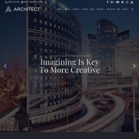 VisualModo - Architect WordPress Theme