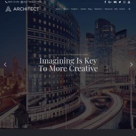 VisualModo – Architect WordPress Theme 2.3.1