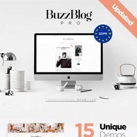 BuzzBlog Pro - Lifestyle Blog & Magazine WordPress Theme