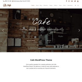 VisualModo - Cafe WordPress Theme