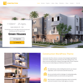VisualModo - Construction WordPress Theme