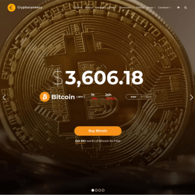 VisualModo - Cryptocurrency WordPress Theme