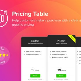 Elfsight Pricing Table