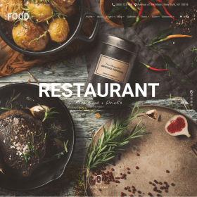 VisualModo - Food WordPress Theme