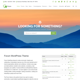 VisualModo - Forum WordPress Theme