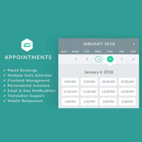 gAppointments – Appointment booking addon for Gravity Forms