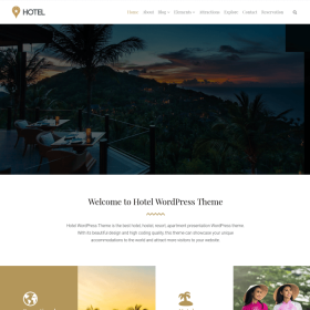 VisualModo - Hotel WordPress Theme