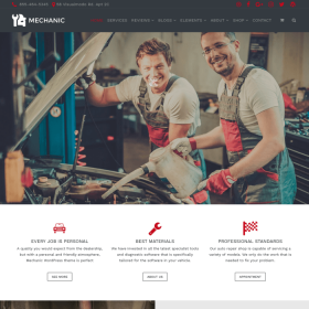 VisualModo - Mechanic WordPress Theme