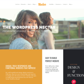 VisualModo - Nectar WordPress Theme