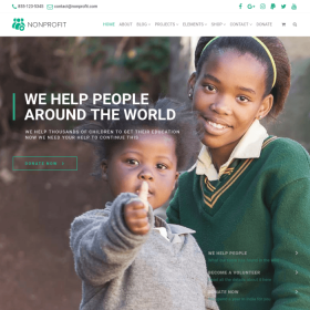VisualModo - Nonprofit WordPress Theme