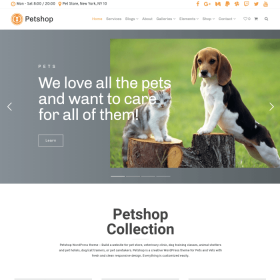 VisualModo - Petshop WordPress Theme