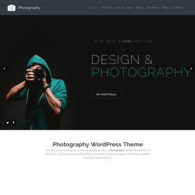 VisualModo - Photography WordPress Theme