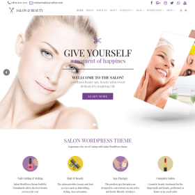 VisualModo - Salon WordPress Theme