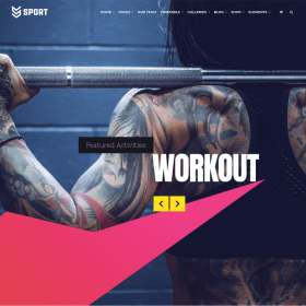 VisualModo - Sport WordPress Theme