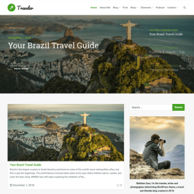 VisualModo - Traveler WordPress Theme