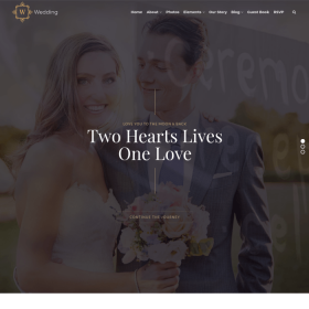 VisualModo - Wedding WordPress Theme