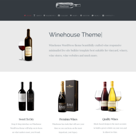 VisualModo - Winehouse WordPress Theme