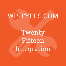 Toolset Twenty Fifteen Integration Addon