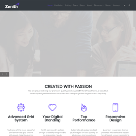 VisualModo - Zenith WordPress Theme