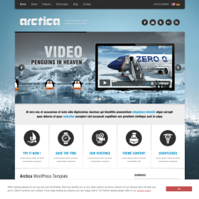 AIT - Arctica WordPress Theme