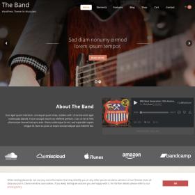 AIT - Band WordPress Theme