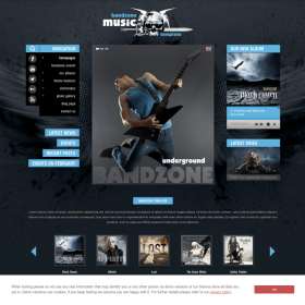 AIT - Bandzone WordPress Theme