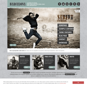 AIT - Barcelona WordPress Theme