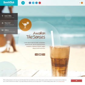 AIT - BeachClub WordPress Theme