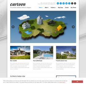 AIT - Cartoon WordPress Theme