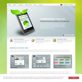 AIT - Compound WordPress Theme