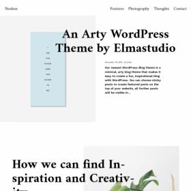 ElmaStudio Neubau WordPress Theme