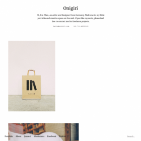 ElmaStudio Onigiri WordPress Theme