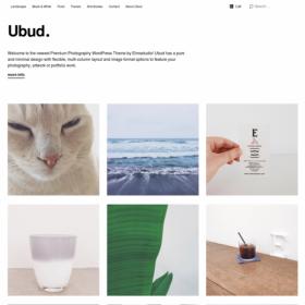 ElmaStudio Ubud WordPress Theme