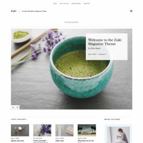 ElmaStudio Zuki WordPress Theme