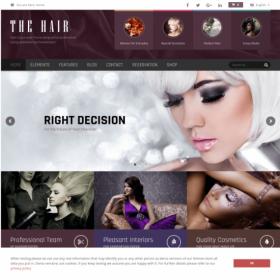 AIT - Hair WordPress Theme