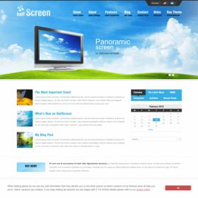 AIT - Halfscreen WordPress Theme
