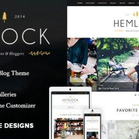 Hemlock - Responsive Blog Theme