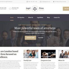 ProteusThemes - LegalPress