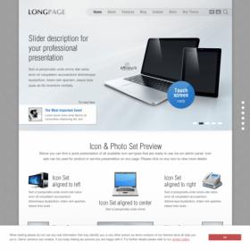 AIT - Longpage WordPress Theme