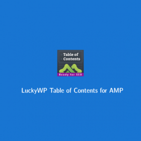 LuckyWP Table of Contents for AMP